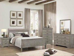 [Crown Mark] Louis Philip Bedroom Set, King (B3450)