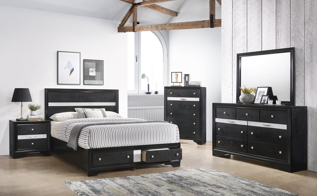 [Crown Mark] Regata Bedroom Set, Queen Sized (B4670)