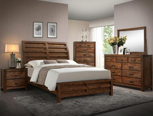 [Crown Mark] Curtis Bedroom Set, King (B4800)