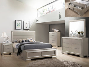[Crown Mark] Paloma Bedroom Set, King (B4820)