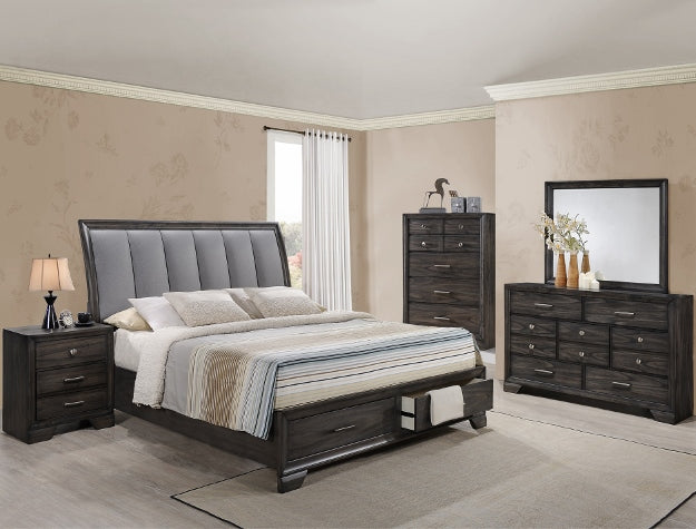 [Crown Mark] Jaymes Bedroom Set, King (B6580)