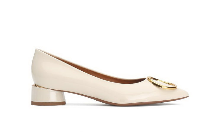 STACCATO Metal 1 Embellishments Pumps beige