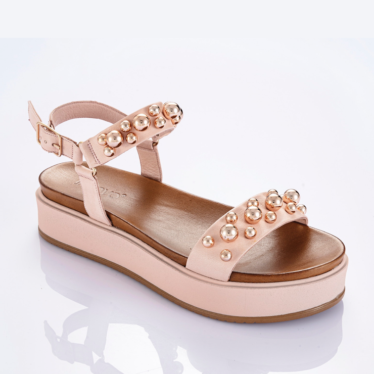 INUOVO Pearl Sandals Pink