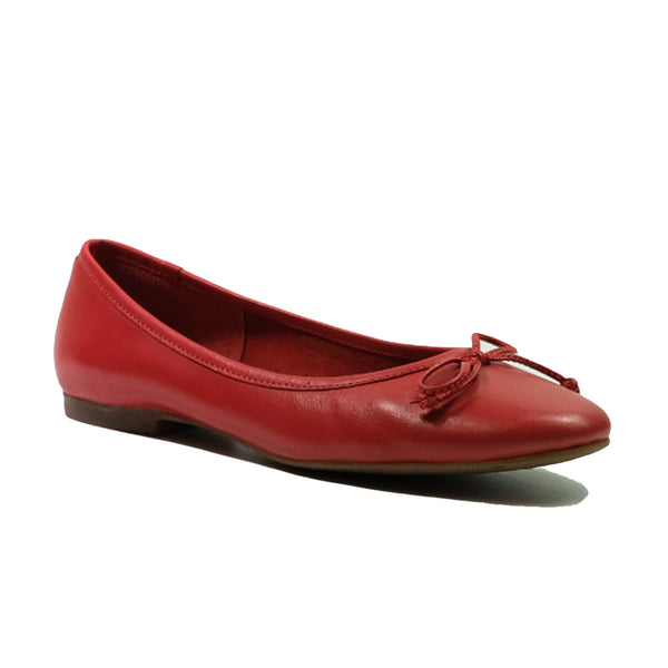 JWEST Euro Ballerina Pump A01021WP Red