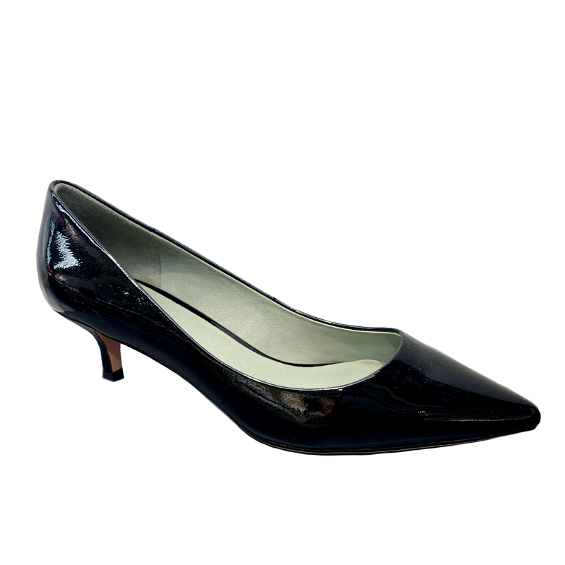 MS J : Basic Patent Low Heels Black