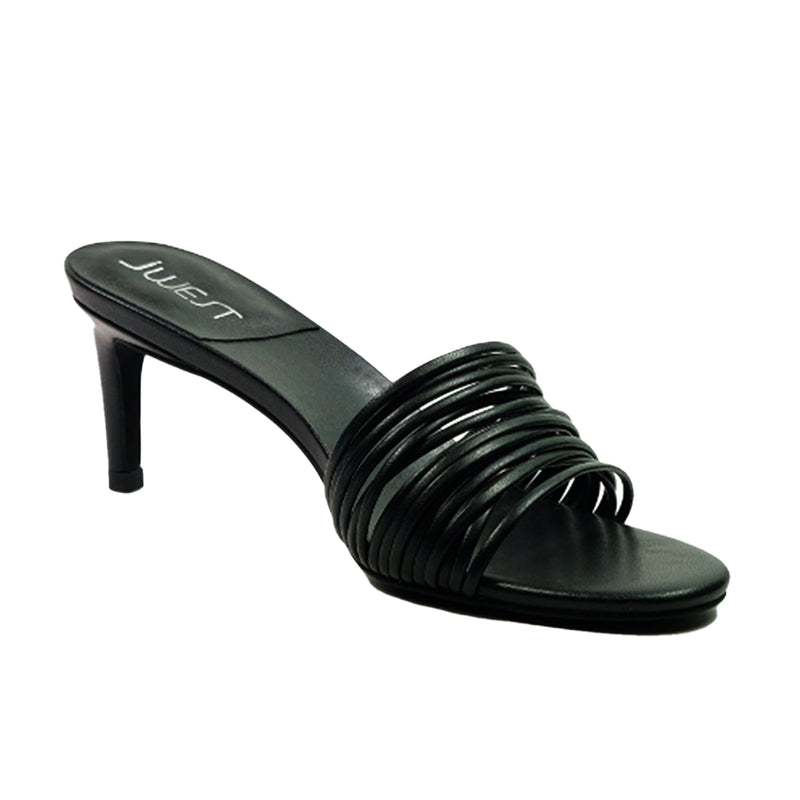 JWEST Slip In Sandals A94082FH Black