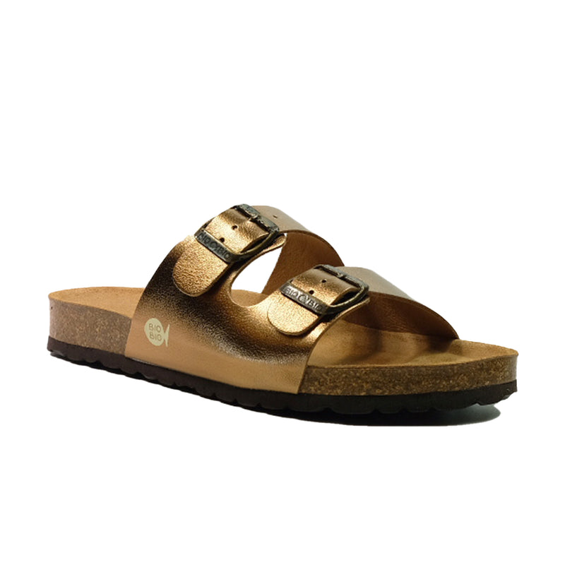 BIO BIO Summer Buckle Sandals BI-70436 Bronze