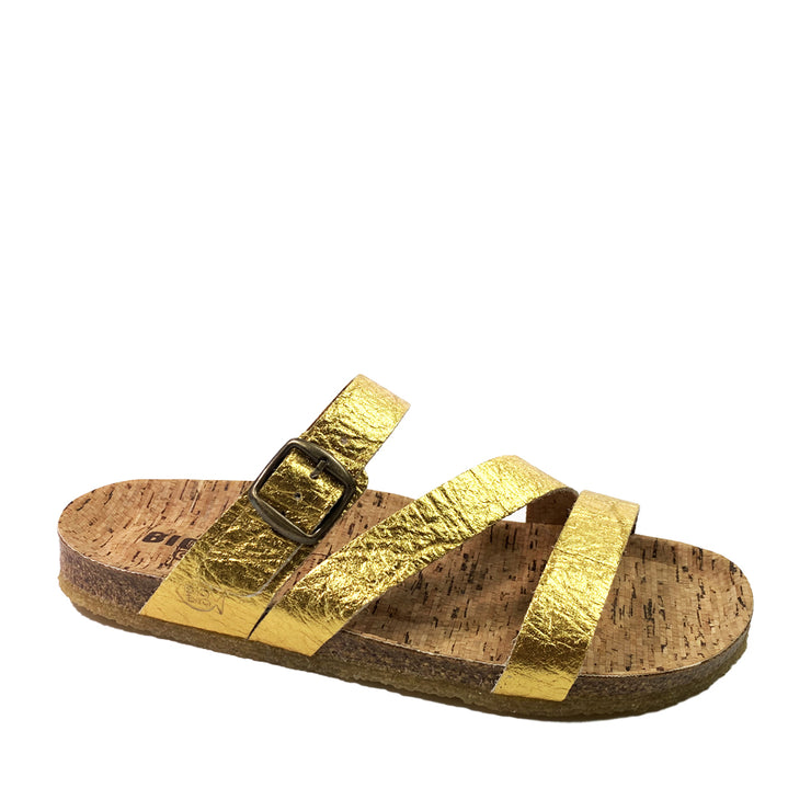 BIO BIO Vegan Summer Sandals BI-77579 Gold