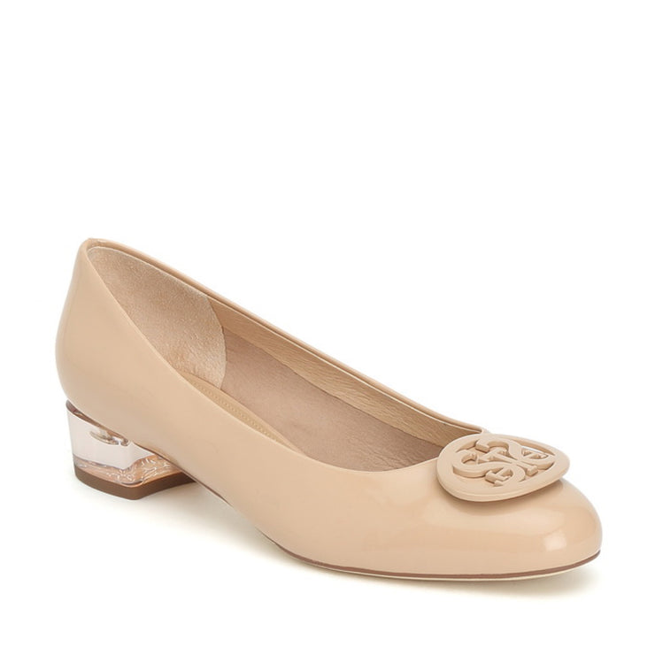 STACCATO Buckle Pumps Beige