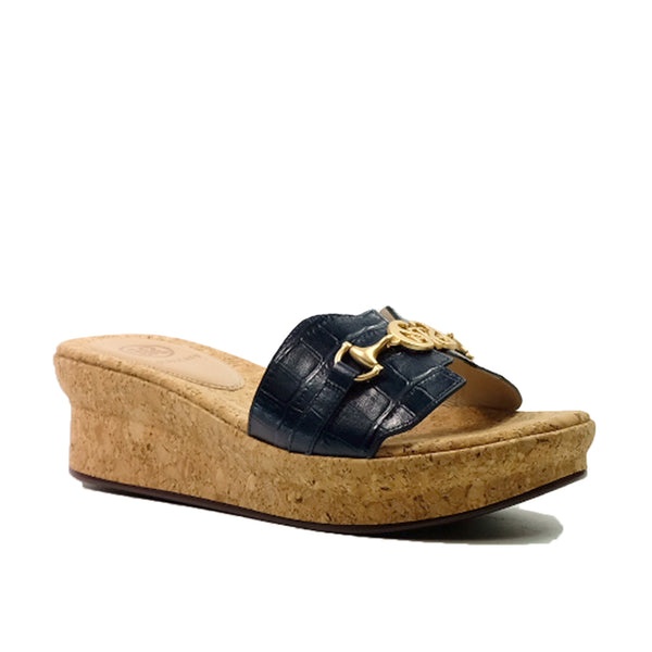 STACCATO Summer Love Logo Wedge C02041CW Navy