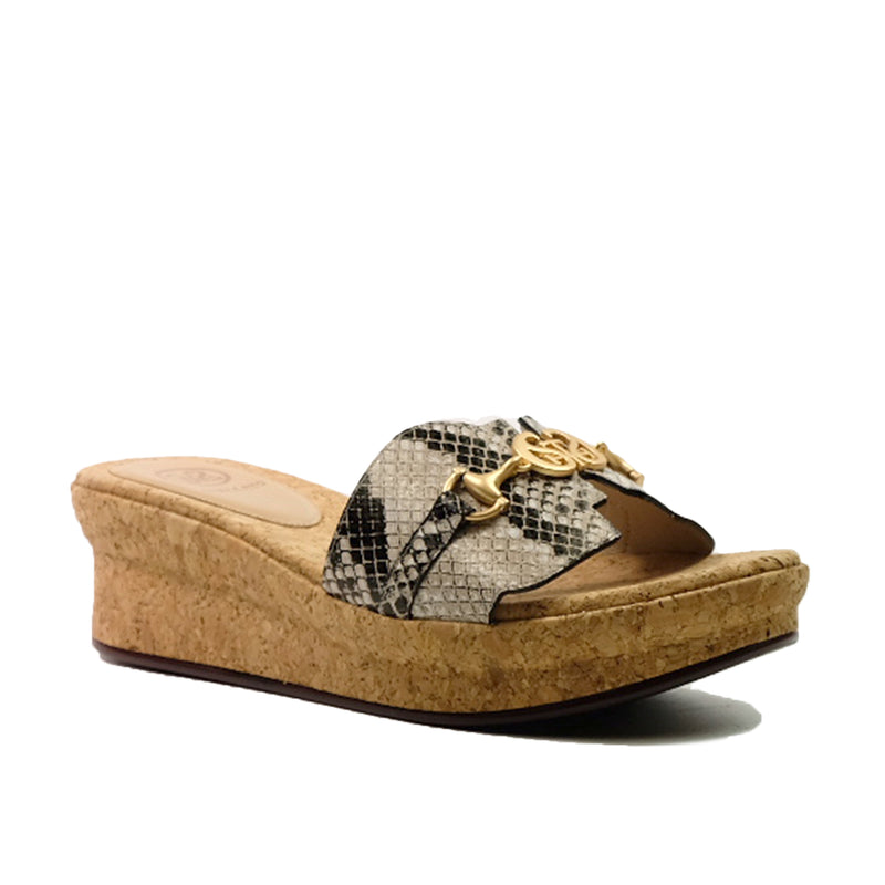 STACCATO Summer Love Logo Wedge C02041CW Print