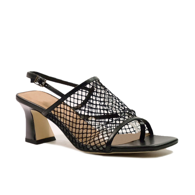 STACCATO Simple Matter Netting Heels C02111FH Black