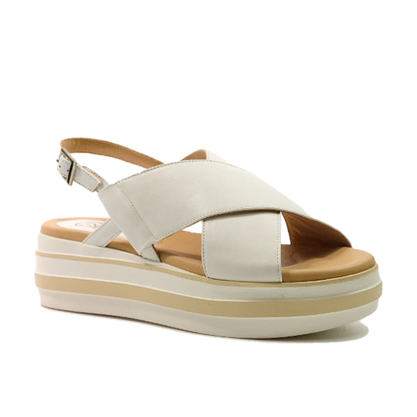 STACCATO Slingback Casual Wedge C02152CW White