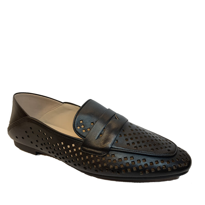 STACCATO Leather Loafers C94132FP Black