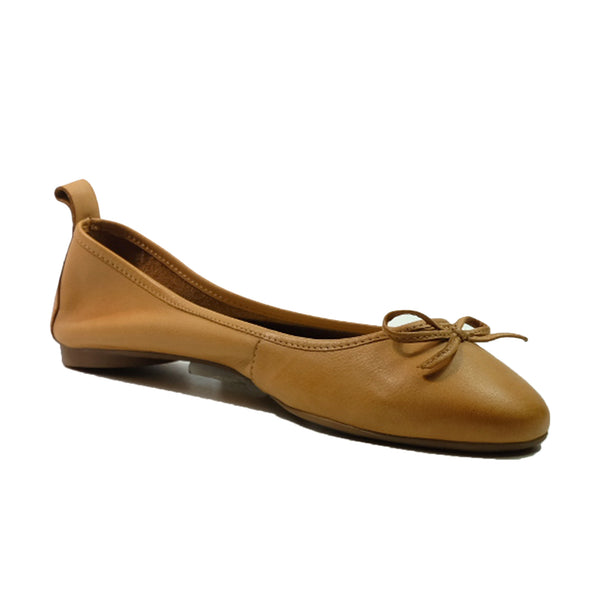 INUOVO Pumps Flats Q-610003 Tan
