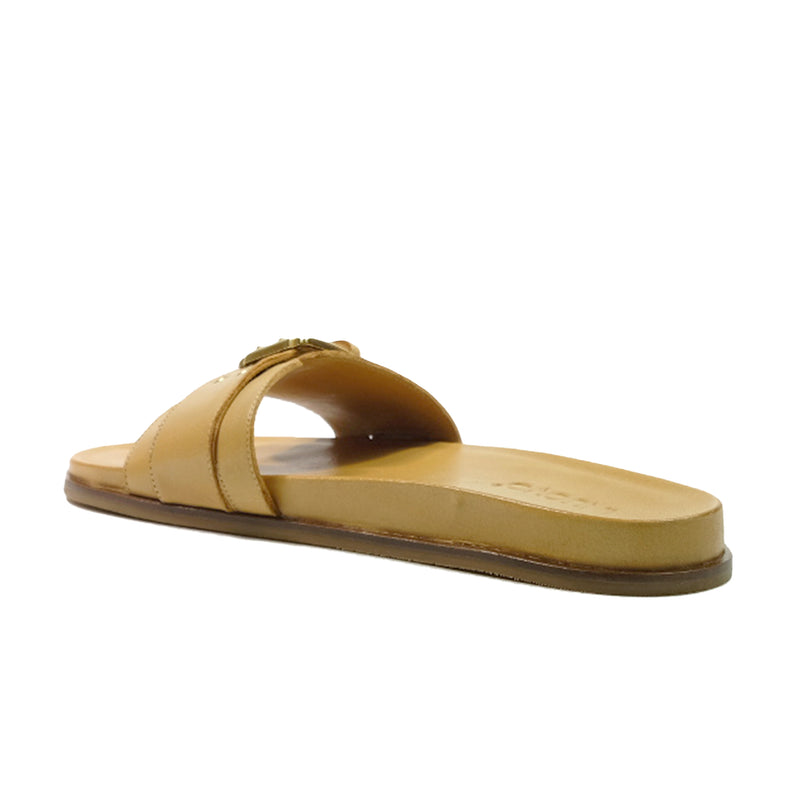 INUOVO Slip On Sandals Q-455005 Tan