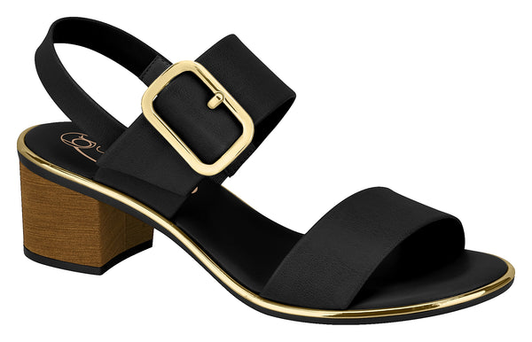 BEIRA RIO Ankle Sandals Buckle K02011FH Black