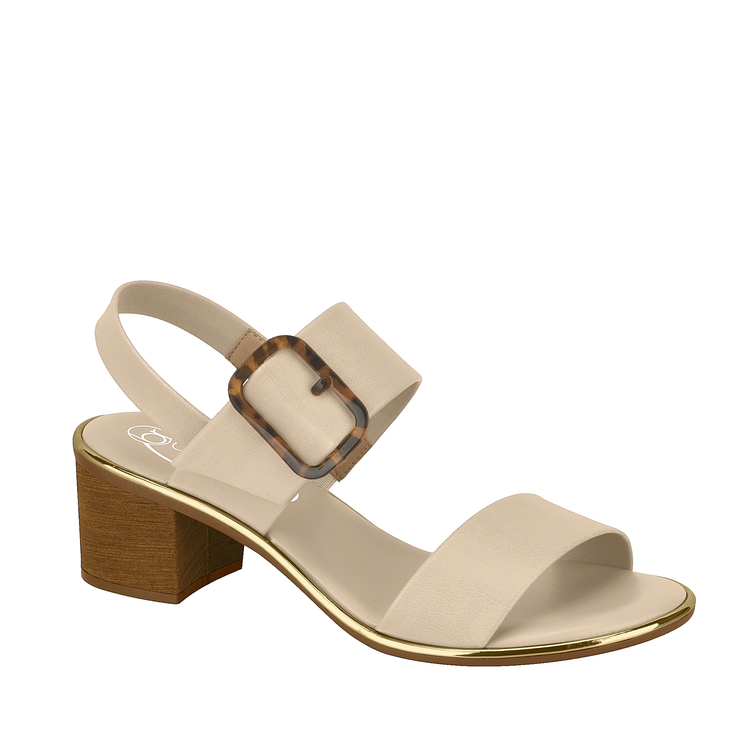 BEIRA RIO Ankle Sandals Buckle 2 White