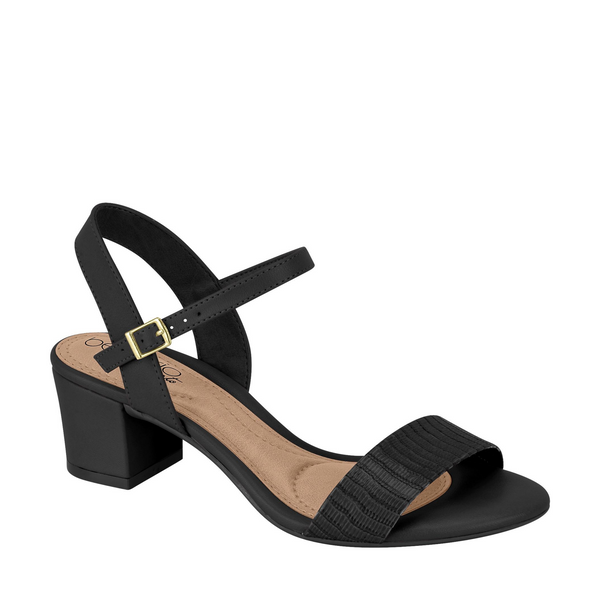 BERIA RIO Ankle Sandals Sling K04012CH Black