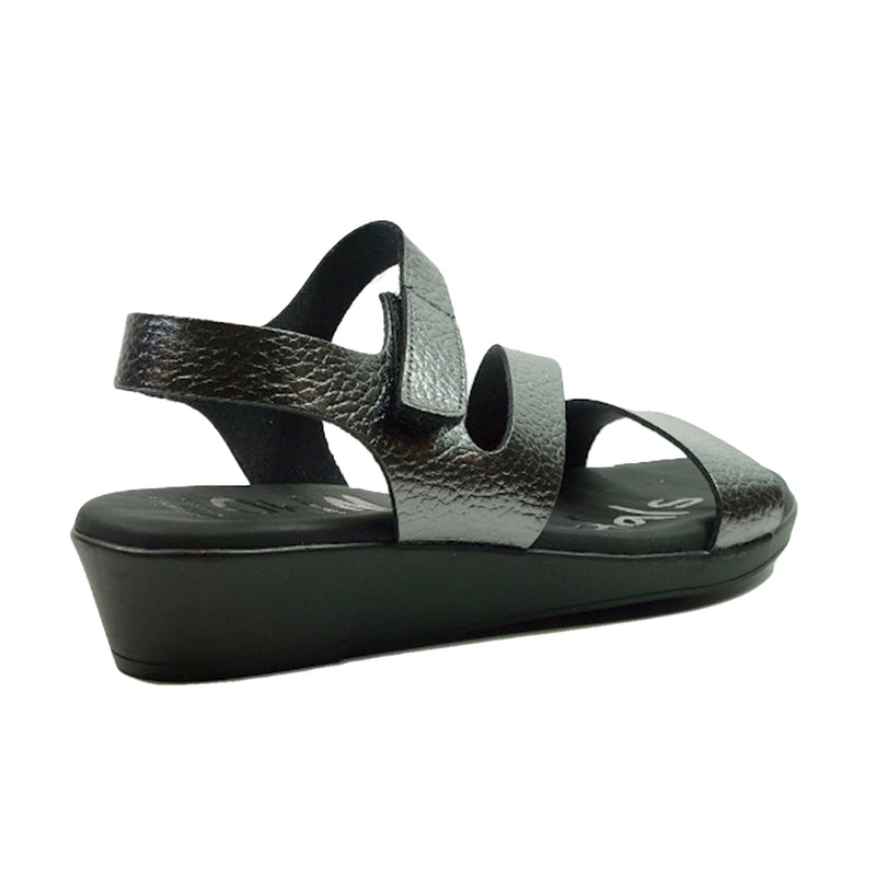 OH! MY SANDALS Sling Sandals OS-4671 Black