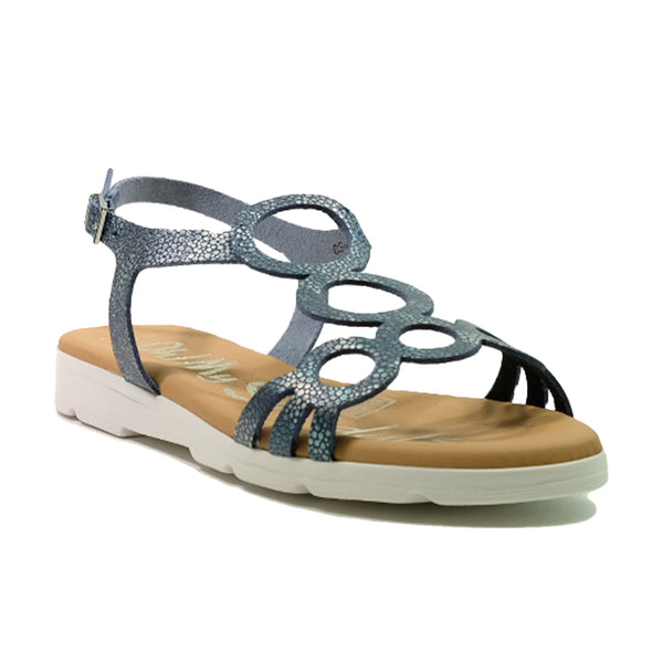 OH! MY SANDALS Strap Sandals 1 OS-4649 Navy