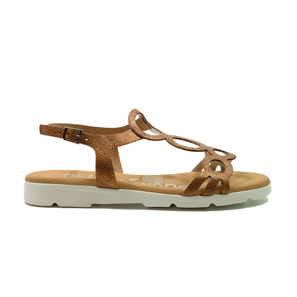 OH! MY SANDALS Strap Sandals 1 OS-4649 Tan