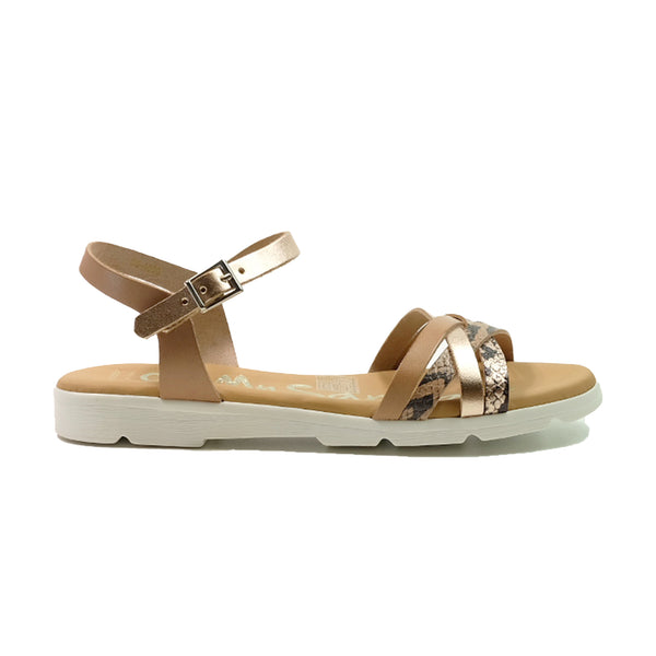 OH! MY SANDALS Strap Sandals OS-4650 Beige