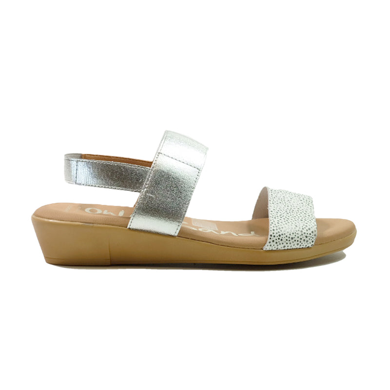 OH! MY SANDALS Sling Back Sandals OS-4672 White