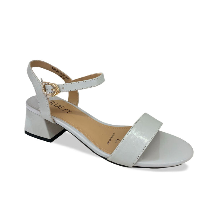JWEST Edge Heel White