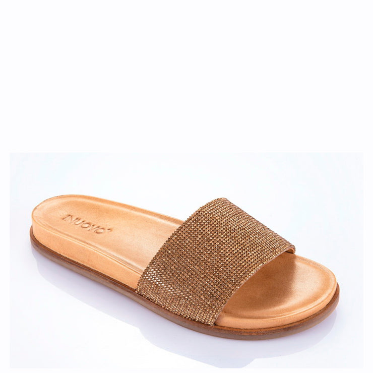 INUOVO Flats Sandals Blings Tan