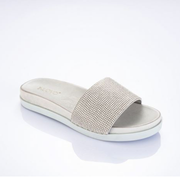INUOVO Sandals Flats Silver