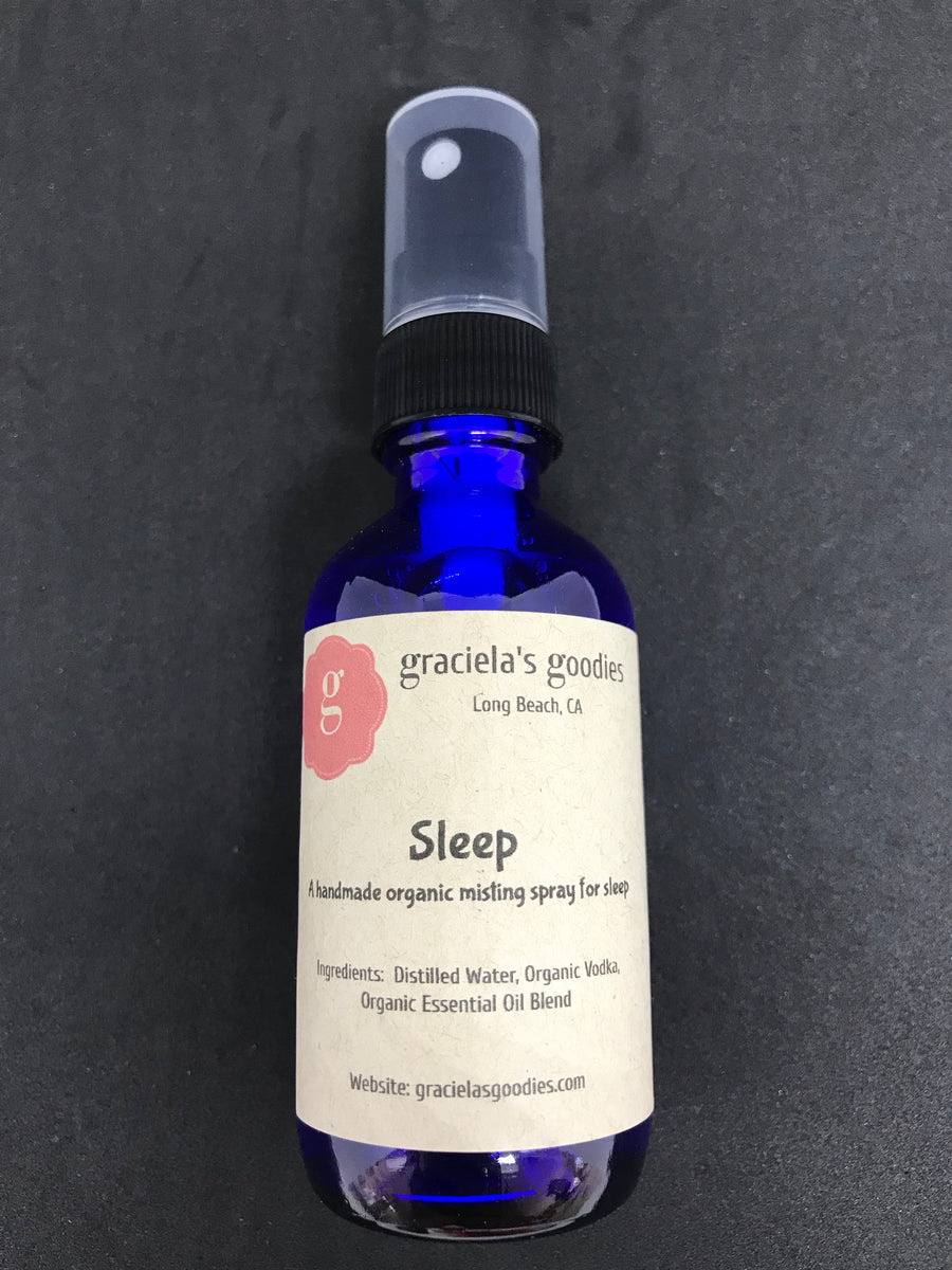 Handmade Organic Pillow Mist: Sleep