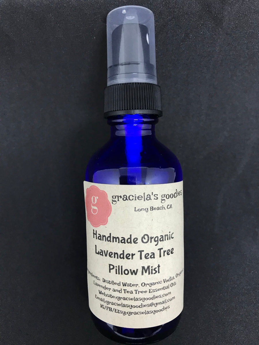 Handmade Organic Pillow Mist: Lavender Tea Tree