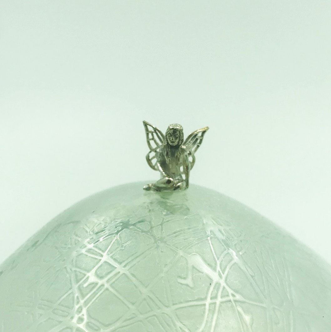 Glasform Hallmarked Sterling Silver Fairy