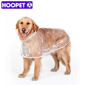 Dog Raincoat big Dog Medium-sized Dogs Pet Waterproof Clothing