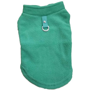 Winter Fleece Pet Clothes for Dogs Puppy Clothing French