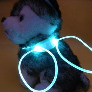 High Quality 1 Pcs Multi-color LED Pet Collar Adjustable Night