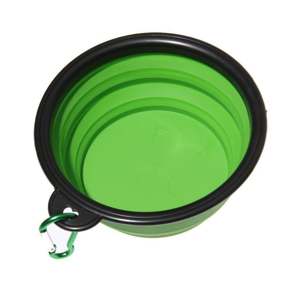 1PC Dog Cat Water Food Bowl Portable Travel