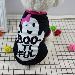 Halloween Devil Pet Warm Pet Dog Clothes Winter Dog Clothes