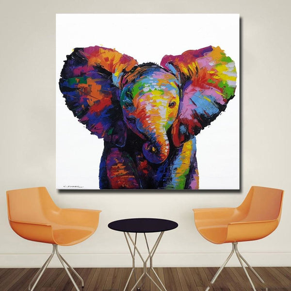 Baby Elephant Canvas Art Paintings at Trendy Canvas Art