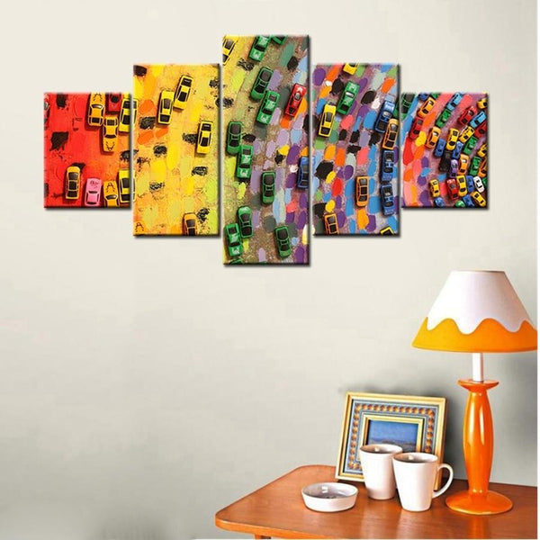 Color Traffic Canvas Art Paintings at Trendy Canvas Art