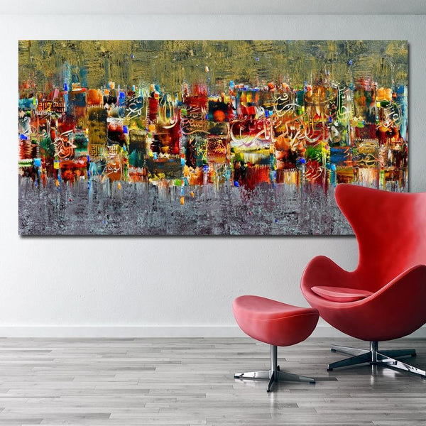 Colors Of Islam Canvas Art Paintings at Trendy Canvas Art