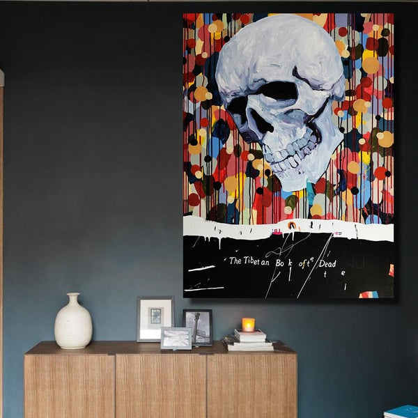 Dead in Color Canvas Art Paintings at Trendy Canvas Art