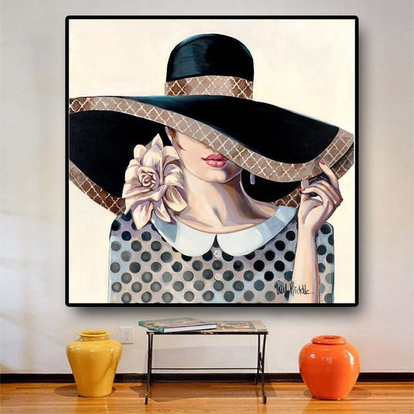 Elegance - 28x28 / Canvas Print - canvas wall art prints