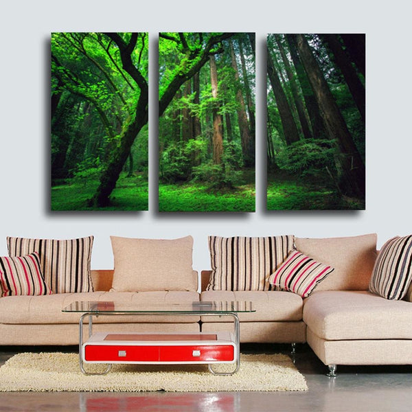 Evergreen - 16x32x3 / Canvas Print - canvas wall art prints