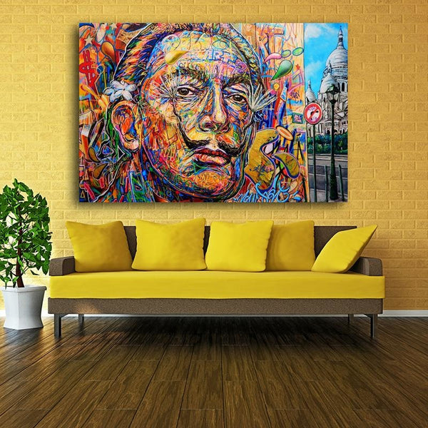 Feeling Salvador - canvas wall art prints