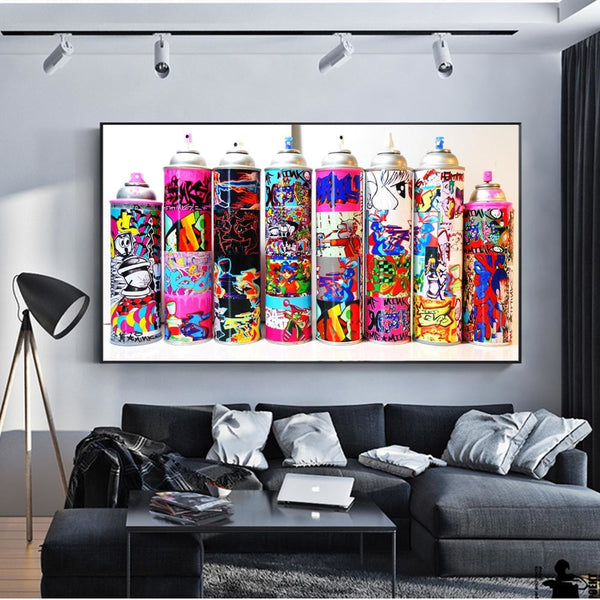 Graffiti Toolbox - 24x48 / Canvas Print - canvas wall art prints