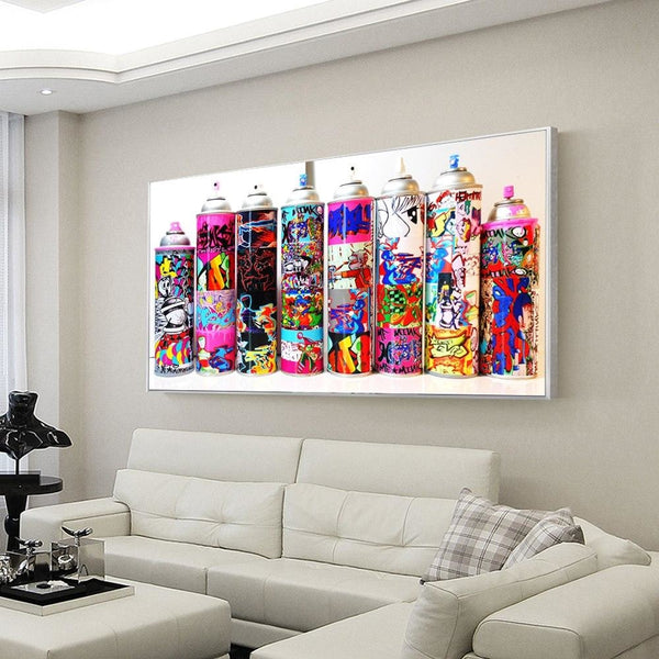 Graffiti Toolbox - canvas wall art prints