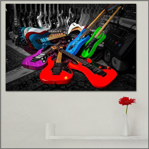 Guitar Culture Canvas Art Paintings at Trendy Canvas Art