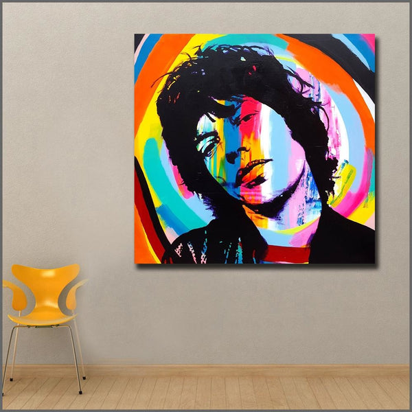 I Got The Moves Like Jagger Canvas Art Paintings at Trendy Canvas Art